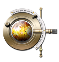 Steampunk Phopteron IO Planetary Icon by yereverluvinuncleber
