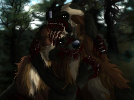 Blood In The Woods by MegBeth