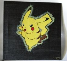 Pikachu by Blackmageheart