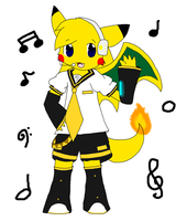 KagamineCharchu by thunerwolf by Charchu-Devin