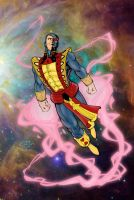 Jack of Hearts in Space by statman71