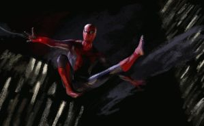 The Amamzing Spiderman Web Slinging by SeniorJ