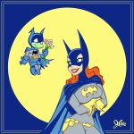Batgirl and Bat-Mite by jerrycarr