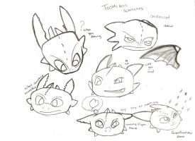 toothless head tries by Taru5naru5