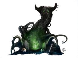 Concept art: Ent by shiprock