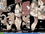 my desktop one piece by davybackfight