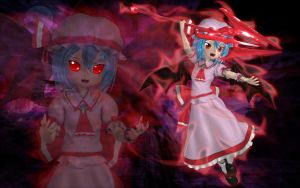 Remilia Scarlet - Assault by Primantis