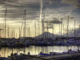 Sailing boats by JovanR