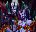 Vengeful Spirit / Queen of Pain by Marry-mind