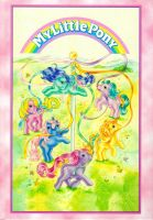 Scanned Vintage/Retro My Little Pony Image '87 by Capnchan