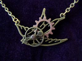 Steampunk Clockwork Bird by SteamPunkJennie