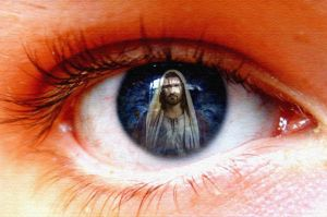 Jesus in our eyes by stasiabv