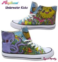 Under Water Kicks by marywinkler