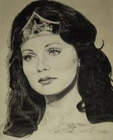 Classic 1970s Linda Carter as Wonder Woman by captainmidnight1200
