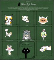 My own feline meme by AVRICCI