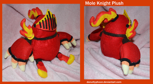 Mole Knight Plush by DonutTyphoon
