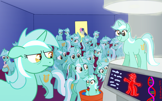 Why Can't I Hold All These Lyras? by bibliodragon
