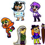 All Free Chibis by LaughterLover