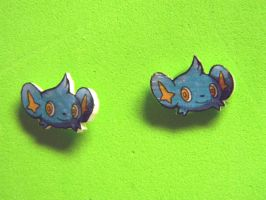Shinx Pick a pokemon earring by kouweechi