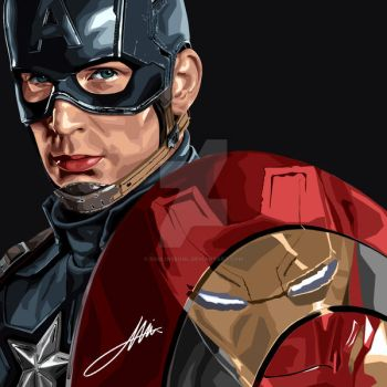 Captain-america by soulinseoul