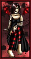 Gothys Colouring Art 2 by ShahZ1989