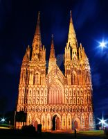 Lichfield cathedral by lewisjbirch