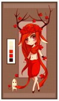 Red Maple Willowee Adopt (Auction CLOSED) by Tmis