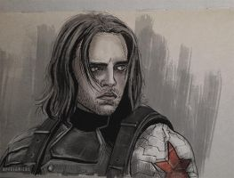 Who the hell is Bucky? by apfelgriebs