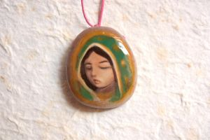 Virgen de Guadalupe in Quartz by BlackAngel-Diana