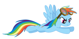 Rainbow Dash Weather Patroller by DuskBrony