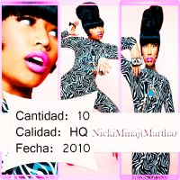 Photopack Nicki Minaj (Martha) photoshoops by ByLadyMinaj