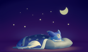 Mika: Snoozing under the stars by streetdragon95