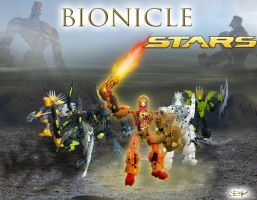 BIONICLE Stars by Master-Cehk