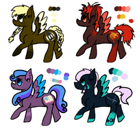 MLM Adopts by toastermadness