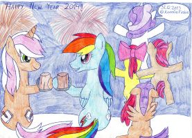 New Year's celebration by Duckkis