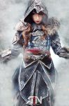 Assassins Creed Revelations- Genderbent Ezio by Its-Raining-Neon
