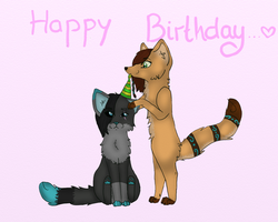 HAPPY BIRTHDAY , Miru!!! by Saphirfluegel97