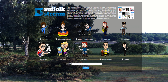 Suffolk Stream - Creative Community Page by ealdana