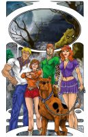 Scooby Gang by Iconograph