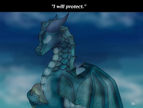 i will protect by CrystalWarder