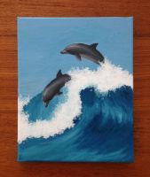 Dolphins by novahowe