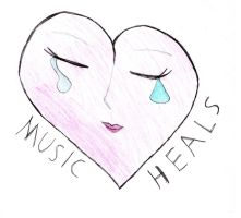 Music Heals by gfhditty