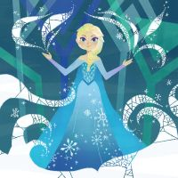Elsa and snow by Uwall