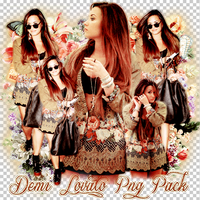 Pack png 241 Demi Lovato by MichelyResources
