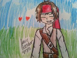 ADOREABLE JACK SPARROW by Rainbow-Pastel