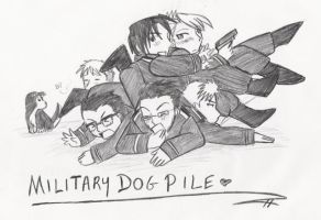 Military Dogpile-FMA by MrsHyuga