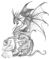 Oh look. Another Dragon. by Javen