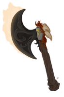 Phoenix Axe by NaesCadence