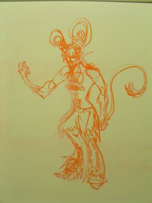 Sketch - Lucifer