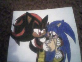Naga Shadow n Sonic Mpreg by PrincessShannon07